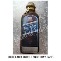 Blue Label- Birthday Cake