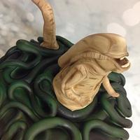 Aliens cake