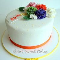 Spring Carnation Cake