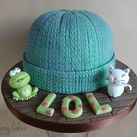 Frog, Cat, Beany Hat!