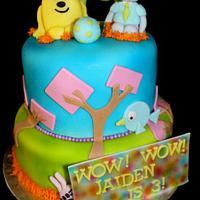 Wow Wow Wubbzy Cake