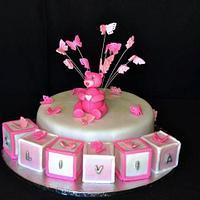Christening cake by Lize van den Heever