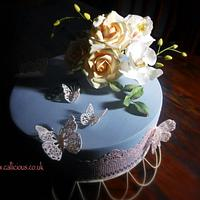Butterflies and Cake Lace