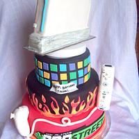 Wii Tiered Cake