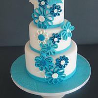 blu flowers by Alessandra