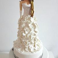 Cake bachelorette party, bridal sculpture by image