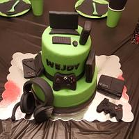 Cake for gamer brother