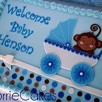 buggy-monkey baby shower