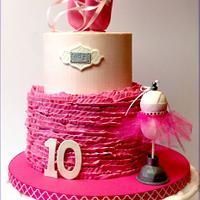 Little Pink Ballet Cake