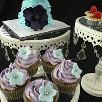 """""""Wanda"""" - Mini Birthday Cake and Desserts by Beau Petit Cupcakes (Candace Chand)"""