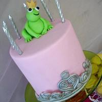 Frog Prince birthday cake