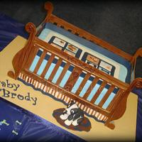 Baby Crib Cake by Misty