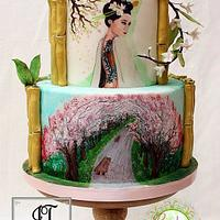Lady of the Garden - Gardens of the world Collaboration