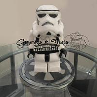Lego Stormtrooper by GenerousTreats