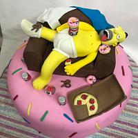 Homero cake!!