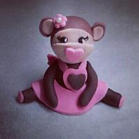 Little monkey girl