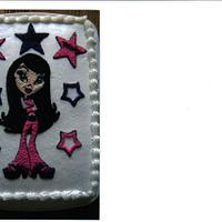Bratz buttercream design cake