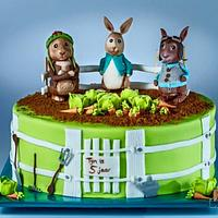 Peter Rabbit and his friends