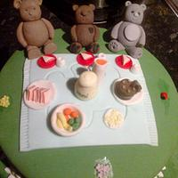 teddy bears picnic by nannyscakes