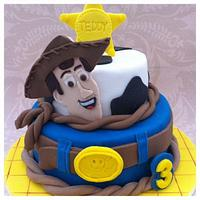 Woody Toy Story Cake