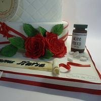 Graduation cake by Diletta Contaldo
