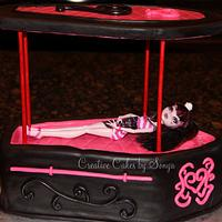 Monster High Coffin Cake