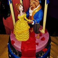Beauty And The Beast Cake by Lucia Busico