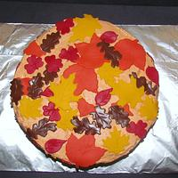 Autumn Leaves by NickySignatureCakes