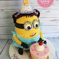 Minion Birthday Girl