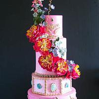 Pretty in Pink Peony Wedding.