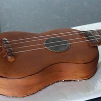 Ukulele Cake by Vanilla01