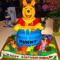 3D Winnie the Pooh and characters