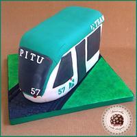TRAM Barcelona cake