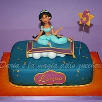 Princess Jasmine Cake Cake By Daria Albanese Cakesdecor