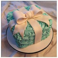 Tiffany's Themed Smash Cake