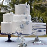 Winter Wedding Trio