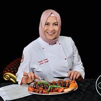 Food cake challenge Turkish kebab by Dilek Dağlı