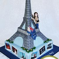 Eiffel Tower for an Aussie Travellers 21st