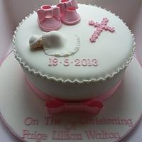 Holy Communion Cake for a girl