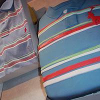 Ralph Lauren Shirt Cake