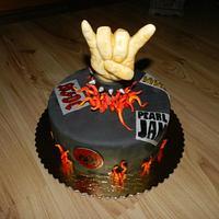 cake for rocker