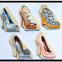 Royal Icing Designer Shoe Cookies