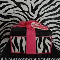 Zebra gift box