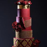 Wedding Dress Cake