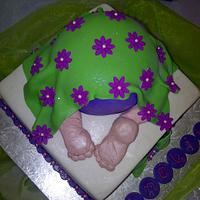 Baby Shower Cake by Lizelle Boshoff