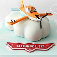 Dusty Crophopper ~ Planes Cake