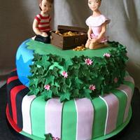 Pirate and Fairy cake by Sweet Redemption Cakes