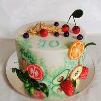 Fit cake