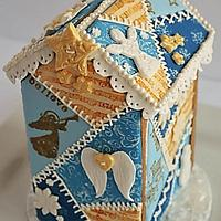 Crazy Quilt Gingerbread House