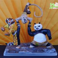Kung Fu Panda Mania Collab - My piece